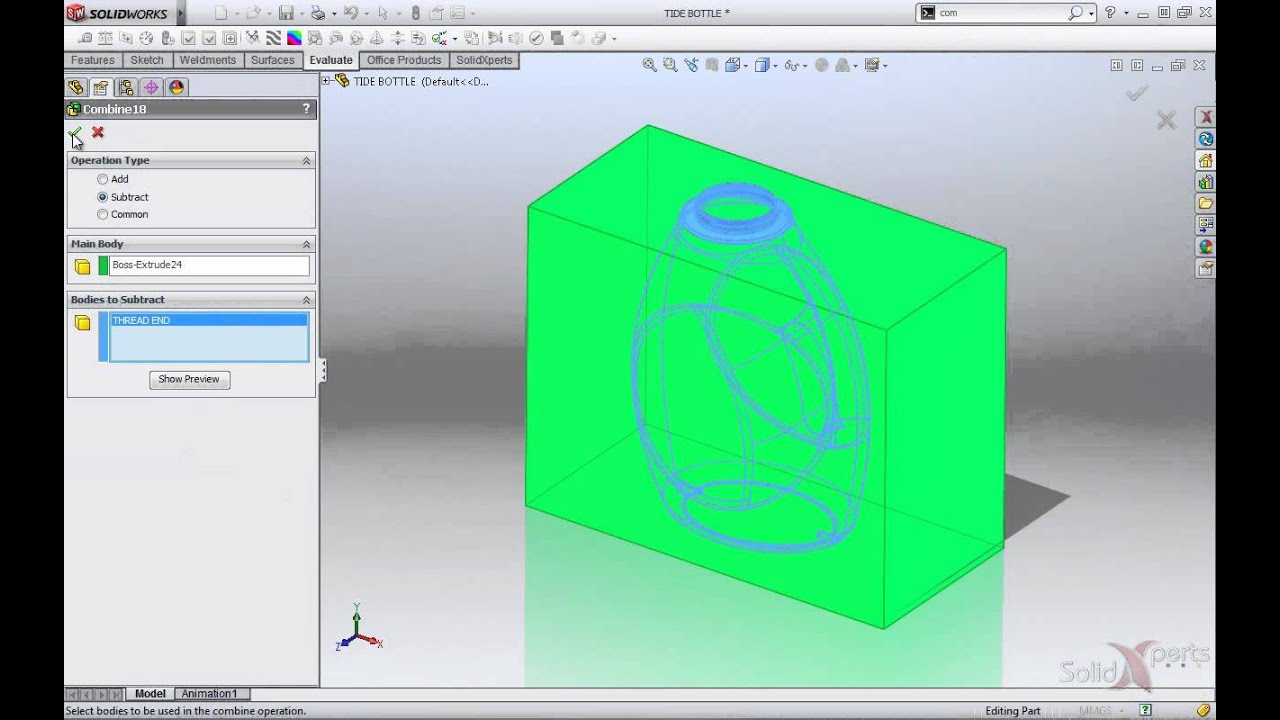 Calculating volume content with solidworks july 2012 youtube calculating volume content with solidworks july 2012 ccuart Image collections