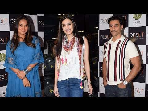 Lara Dutta And Diana Penty At Launch Of Fitness Centres Reset | Bollywood Celebrities At Gym
