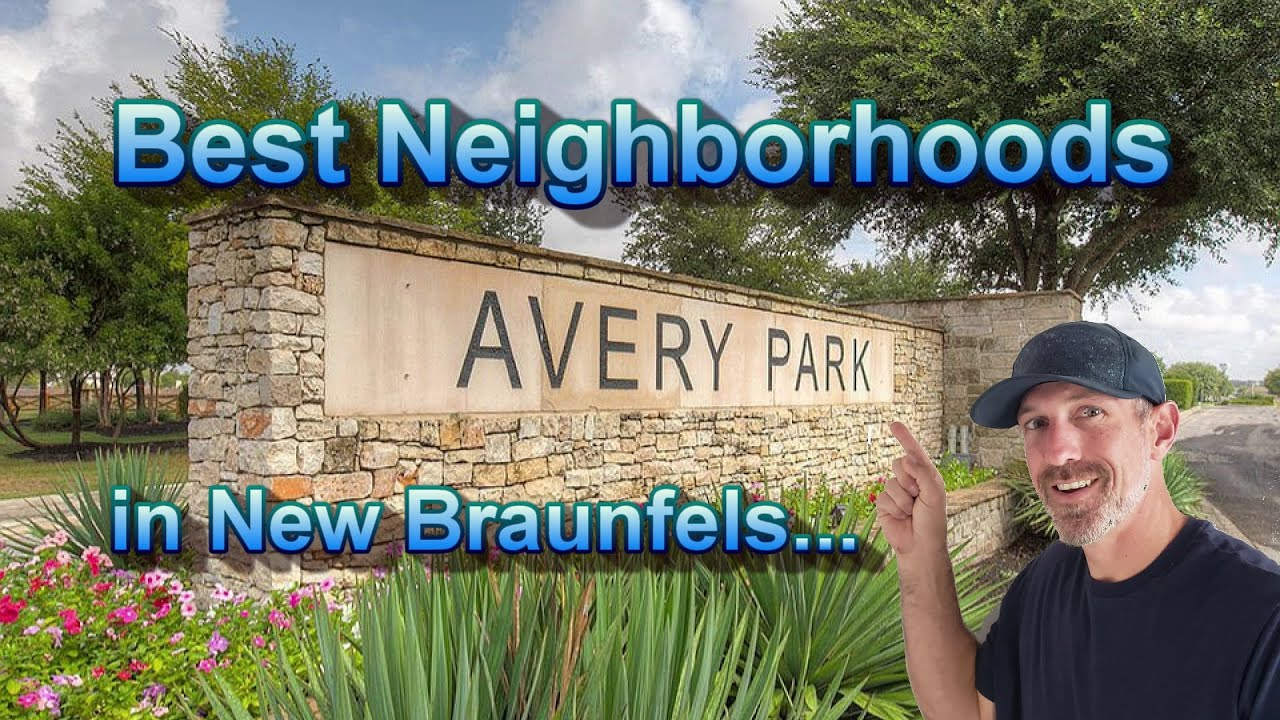 Best Neighborhoods In New Braunfels Avery Park Moving To New Braunfels Youtube