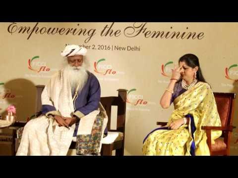 SadhGuru Jaggi Vasudeva at YFLO Delhi