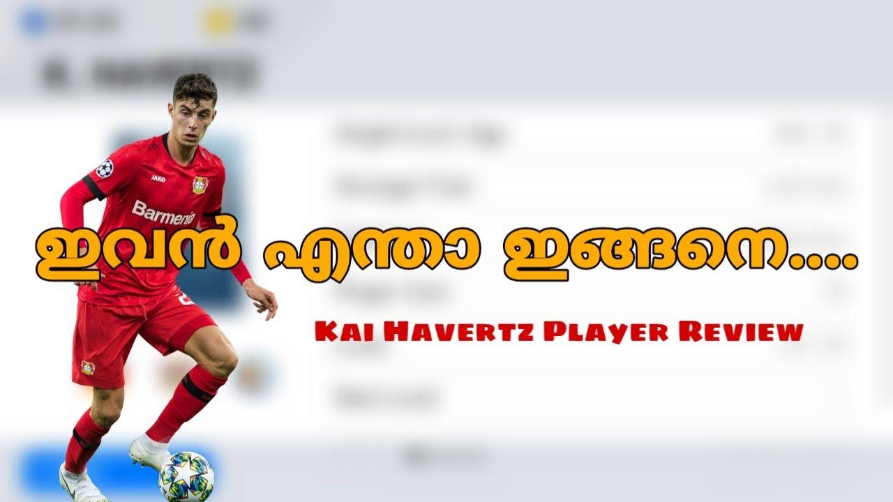 Kai Havertz Pes 2020 Player Review Malayalm Pes 2020 ...