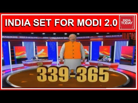 India Today Exit Poll 2019 Predicts 339-365 Seats For NDA In Lok Sabha Elections