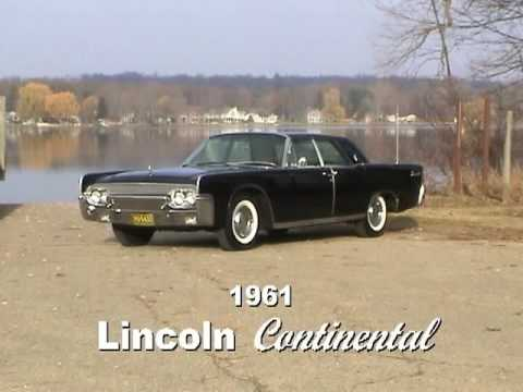 1961 lincoln continental sedan youtube. Black Bedroom Furniture Sets. Home Design Ideas