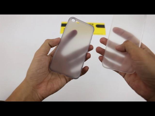 Ốp lưng TPU dẻo siêu mỏng iPhone 7 hiệu HOCO Frosted