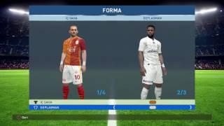 PES 2017 Spor Toto Süper Lig + Bundesliga Yaması ( PESMODS V2 )