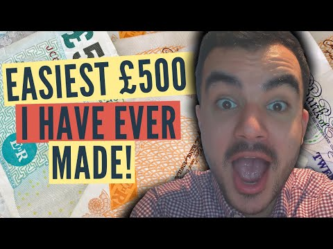 3 EASY side hustle ideas to make money FAST in 2021 [UK Edition]