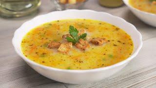 Вкусный суп с плавленым сыром из простых продуктов за 30 минут Рецепт от Всегда Вкусно