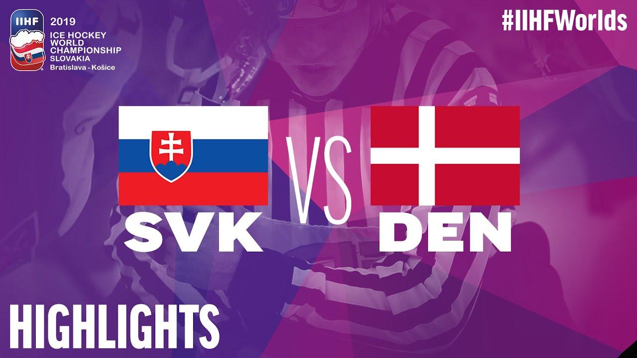 ea3afaaeb4808 Video: Slovensko v poslednom zápase na MS v hokeji 2019 zdolalo Dánsko,  rozhodli samostatné nájazdy - Webnoviny.sk