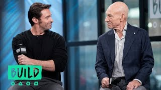 "Hugh Jackman And Patrick Stewart Discuss Their Film, ""Logan"""