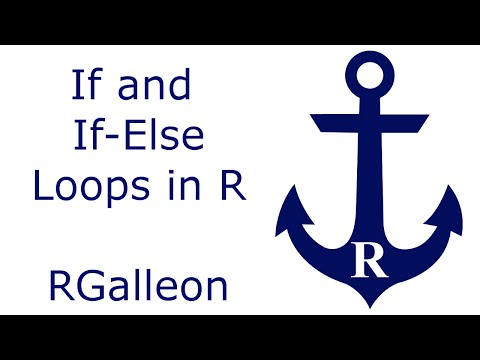 If and If-Else Loops in R