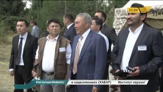 Глава государства посетил киностудию «Қазақфильм»