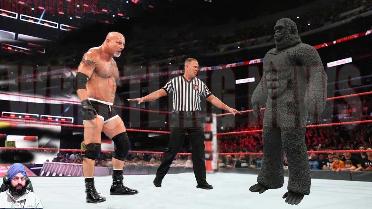Goldberg vs King Kong No Dq Match  Wrestling News