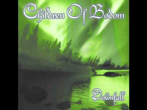 Children of Bodom - Downfall backing track