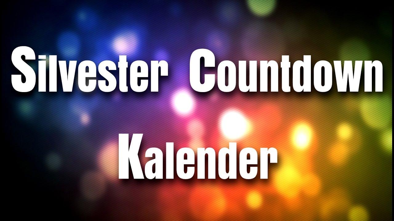 silvester countdown kalender