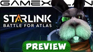 We Played Starlink: Battle for Atlas + Star Fox for 2 Hours! Hands-On Preview (Switch & Xbox One)