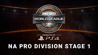 1/27 North America Pro Division Live Stream - Official Call of Duty® World League
