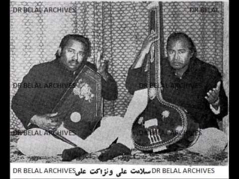 Ustad Salamat And Ustad Nizakat Ali Khan-  Yaare Man Bia - Kabul, Afghanistan