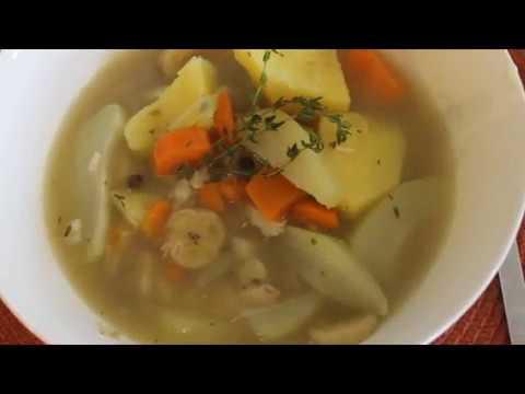 Fish soup fish tea soup jamaican youtube for Jamaican fish soup recipe