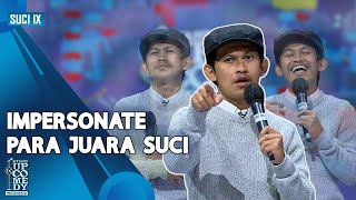 Stand Up Indra Jegel: Impersonate Babe Cabita Hingga Ridwan Remin - SUCI IX [CHAMP ARENA]