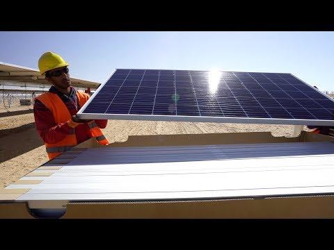 Egito tem o maior parque de energia solar do mundo; veja vídeo aéreo