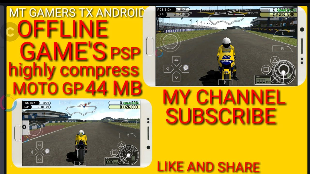 PSP MOTO GP HIGHLY COMPRESSED 44 MB DOWNLOAD FREE ANDROID ...