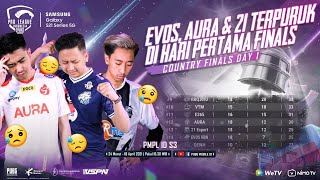 PMPL S3 INDONESIA GRAND FINAL DAY 1 | SAMSUNG GALAXY S21 5G | EVOS, AURA, & 21 TERUPURUK DI FINALS