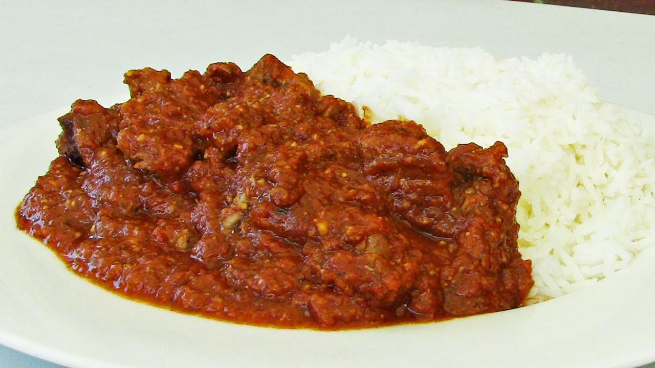 How to make lamb vindaloo indian video recipe youtube forumfinder Choice Image
