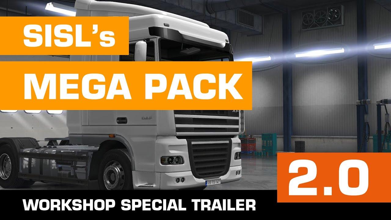 Sisl S Mega Pack 2 0 Trailer Euro Truck Simulator 2 Mod