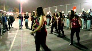 10-21-11 Garfield highschool marching band :)