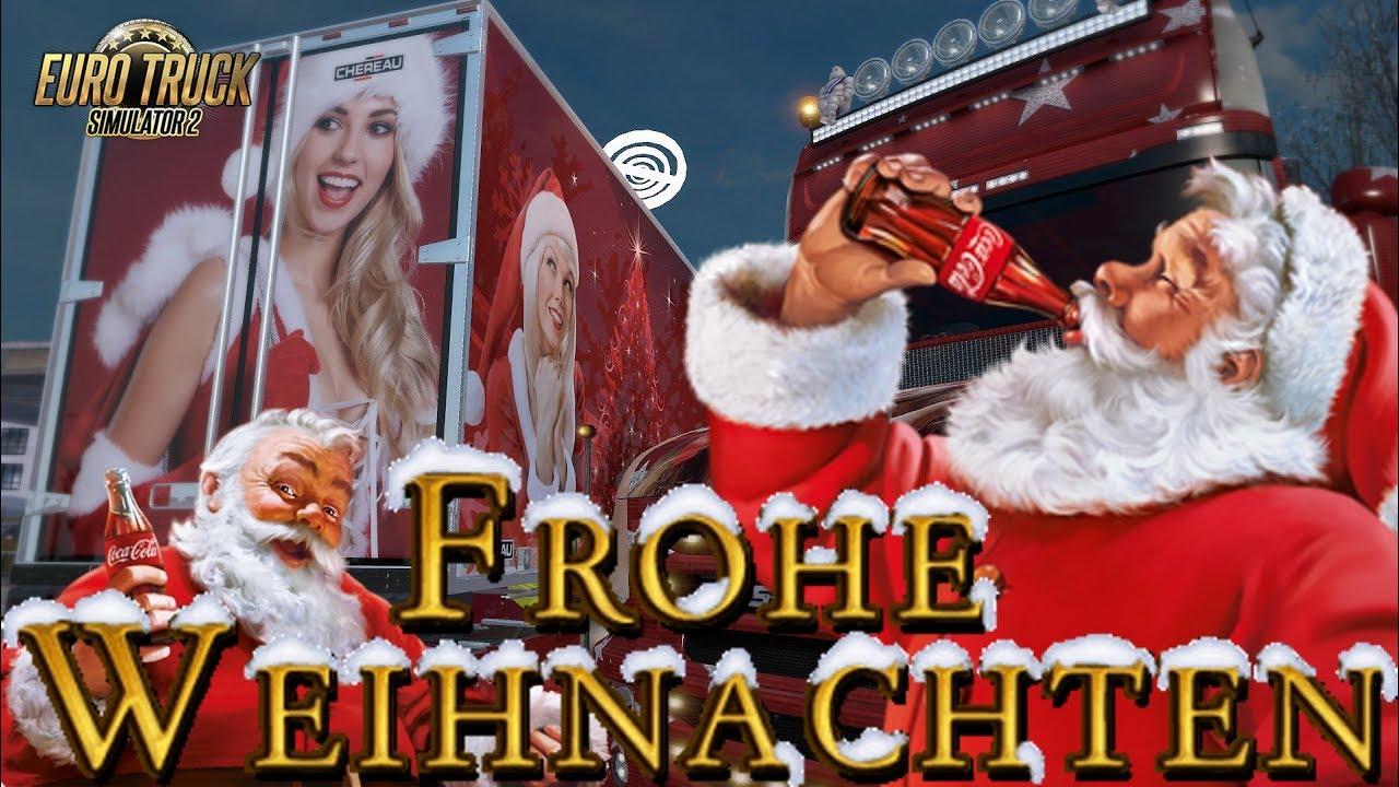 ETS2 I Frohe Weihnachten ☆ Wie läuft Weihnachten bei Maximus ...
