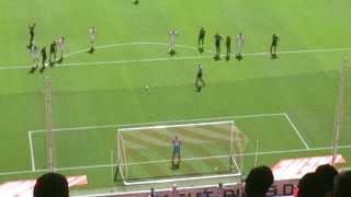 Marcel Risse Penalty - 1 FC Koln v SV Sandhausen - 2:0