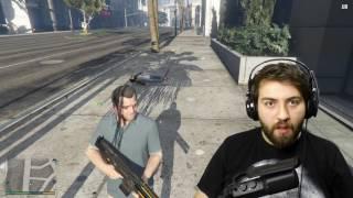Komik Gravity Gun Mod !!! - Grand Theft Auto 5 Modları !!!