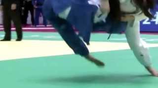 Grand Slam Tokyo 2013: Kim Polling (NED) - Haruka Tachimoto (JPN)