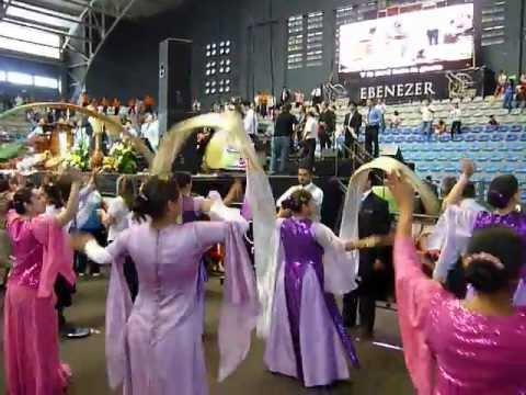 Danza Señoritas Ministerios Ebenezer Guatemala - YouTube