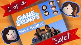 GAME GRUMPS 2014 Calendar HOLIDAY SALE!!