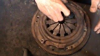 Балансировка маховика и корзины двигателя
