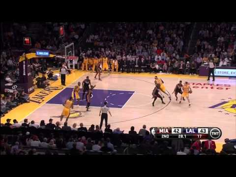 01 17 2013   Heat vs  Lakers   Team Highlights