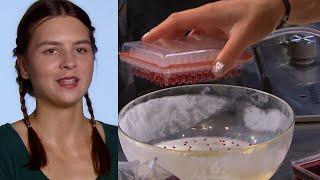 Ania była zachwycona kuchnią molekularną! [MasterChef]