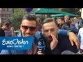 Eurovision in Concert: Lars hat in Amsterdam die ESC-Teilnehmer getroffen