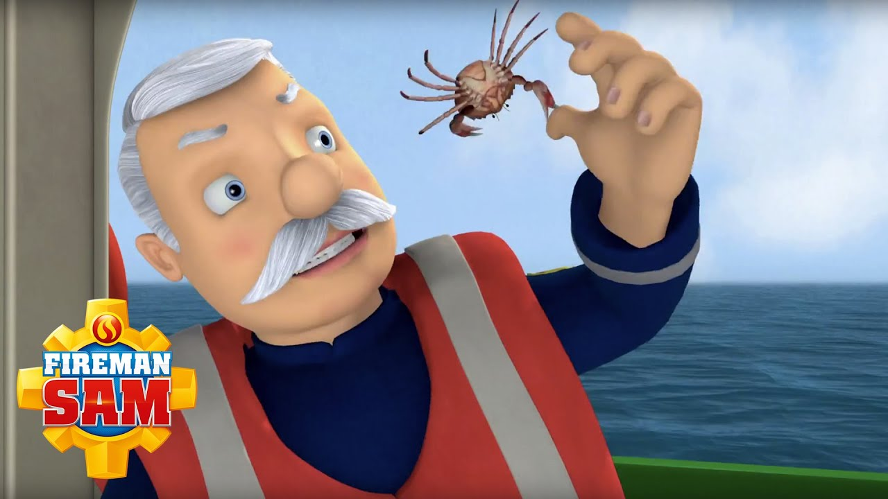 Fireman Sam Official Fishing With Station Officer Steele  YouTube