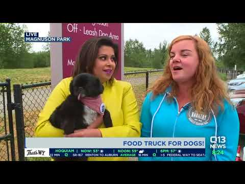 Check out the Seattle Barkery, a food truck for dogs!!