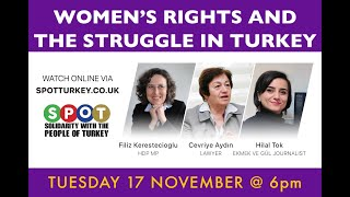 SPOT Women's Rights and the Struggle in Turkey