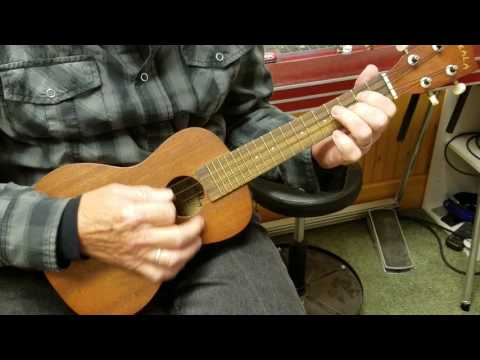 Ukulele learn Wildwood Flower in Key of C