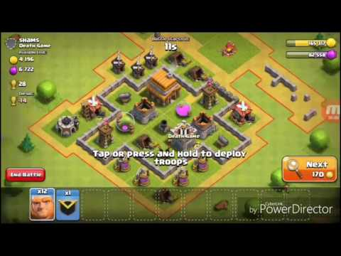 Clash Of Clans Upgrading Giant Level 2