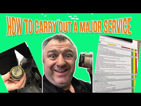 How To Carry Out A Major Service