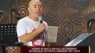 Repeat youtube video WALLY BAYOLA AND EB BABE YOSH NAGSALITA NA SA SAKSI