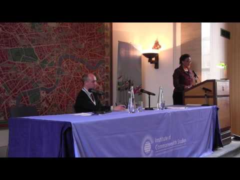 The Commonwealth and Challenges to Media Freedom - Keynote lecture with Baroness Patricia Scotland