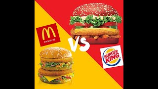 Is McDonalds Better than Burger King this video says yes it is!