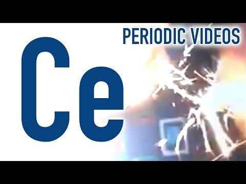 Video image: Cerium - Periodic Table of Videos