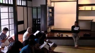 現代詩研習班8月份導師:陳黎8/17小宇宙,大趣味──小詩的閱讀與寫作參考...